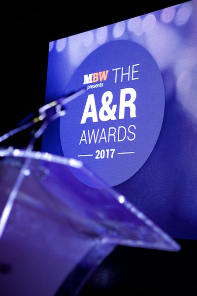 The A&R Awards 2017